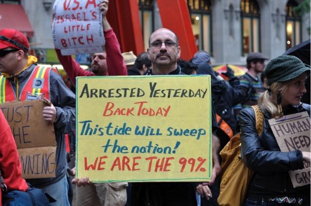 """""""Wij zijn de 99 %"""""""